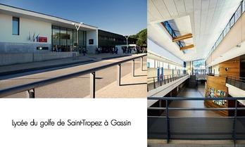 Lycée du golfe de Saint-Tropez à Gassin https://gassin.eu