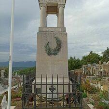 Monument aux morts de Gassin au cimetière de Gassin - https://gassin.eu