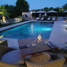 Diner piscine La Villa Dune
