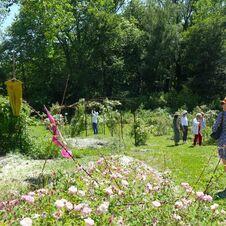 Inauguration - Le Jardin de Gassin - gassin.eu