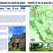 Fiche randonnée Panoramas du Golfe de Saint-Tropez
