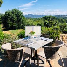 Restaurant La Verdoyante terrasse