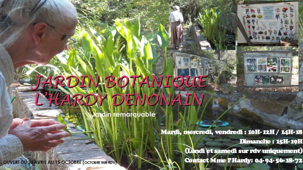 JARDIN BOTANIQUE L'HARDY DENONAIN