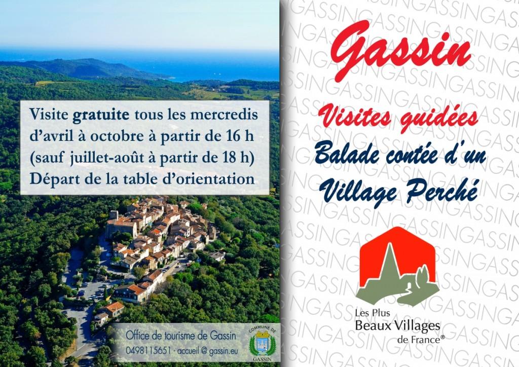 flyer -visite guidée-gassin village perché--petit