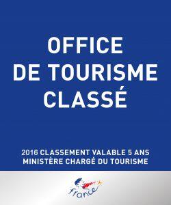 panneau Office de tourisme classé Gassin Côte d'Azur 2016